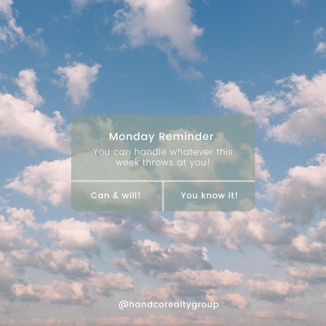 Let's show this weeks who's boss!  - #monday #mondayquotes #reminder #realestate #heatherandcompanyrealtygroup #oklahomarealestate #Realtor #oklahomabrokerage #oklahoma #brokerage #broker #sellinghomes #buyinghomes #handcorealtygroup #handco #mondaymantra