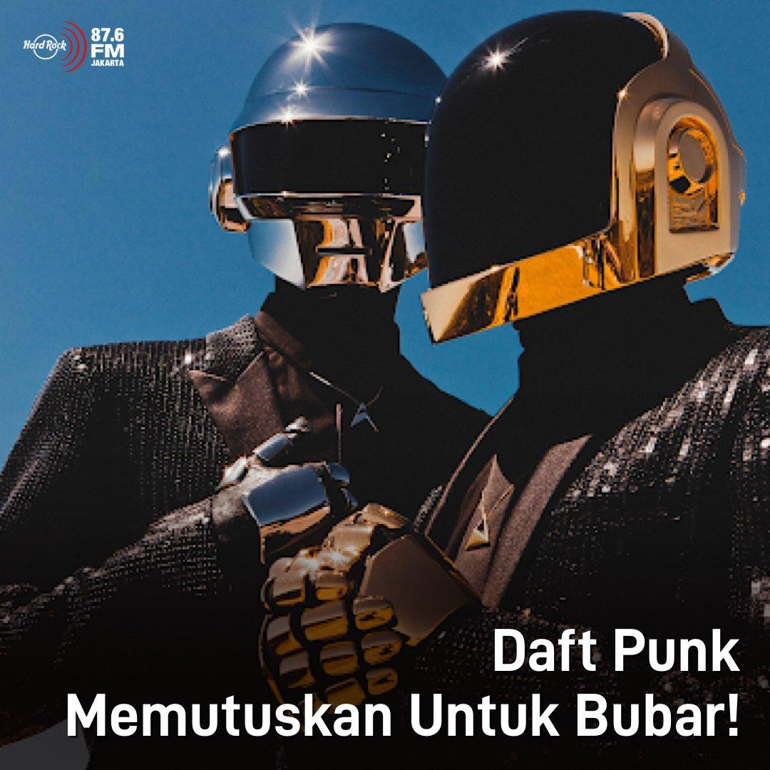 #HRFMNews 28 tahun berkarya bersama, Daft Punk memutuskan untuk bubar!  Bubarnya Daft Punk diumumkan di video YouTube berjudul Epilogue, dimana salah satu karakter ini meledak dan ditutup dengan simbol tangan membentuk segitiga dengan tulisan 1993-2021 di bawahnya.