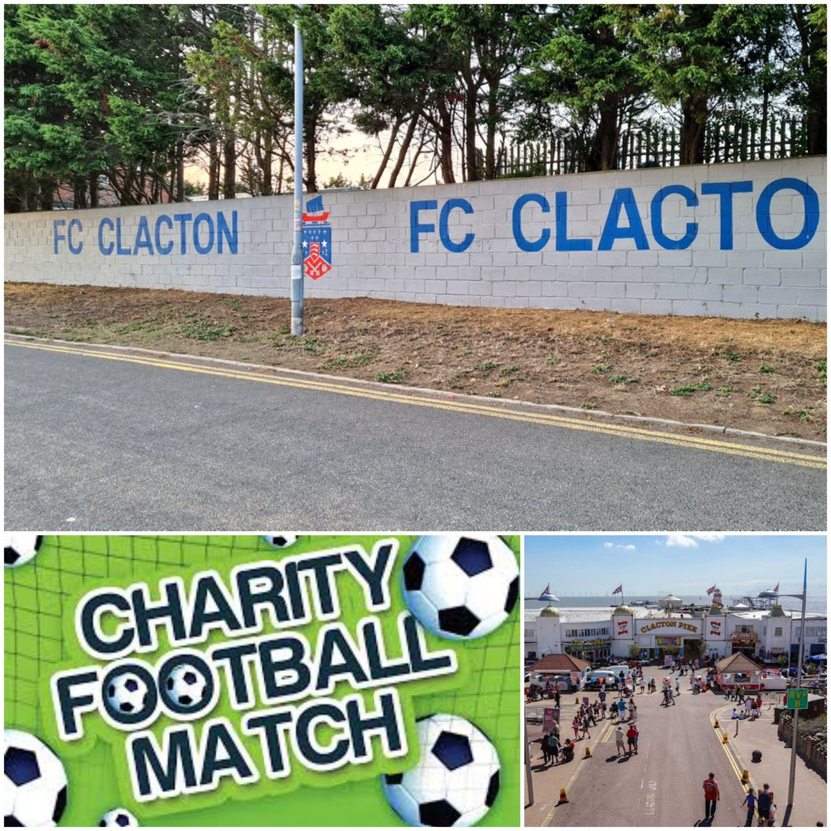 September @FC_Clacton we will be holding a great charity match & evening party event so come along, support plus have weekend by the Sea ! Fans will be invited to play so watch this space once all details are confirmed. THE BEAT DOES GO ON!!