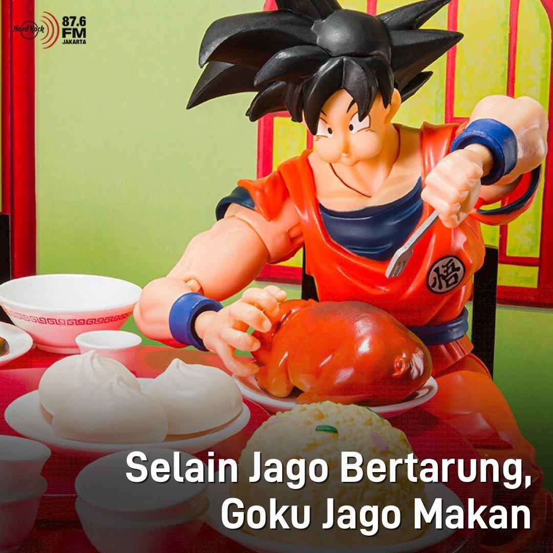 """#HRFMNews Tertarik ga koleksi action figure Goku rakus?  Bandai merilis edisi spesial Goku banyak makan. Edisi yang berjudul """"Belly Eighth Minute Set"""" ini menggambarkan kecintaan Goku terhadap makanan. Tenang, ga semahal action figure biasanya, edisi ini dijual seharga $33 USD."""