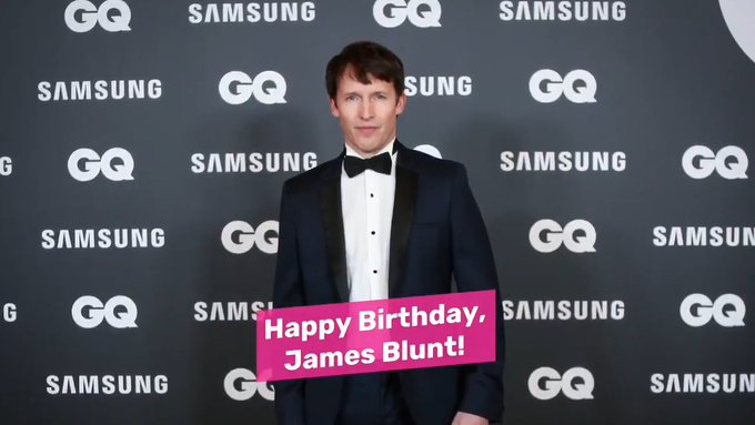 Happy Birthday, James Blunt!