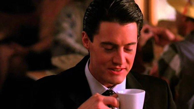Happy Birthday to man who appreciates a good cup of hot coffee, Kyle MacLachlan!