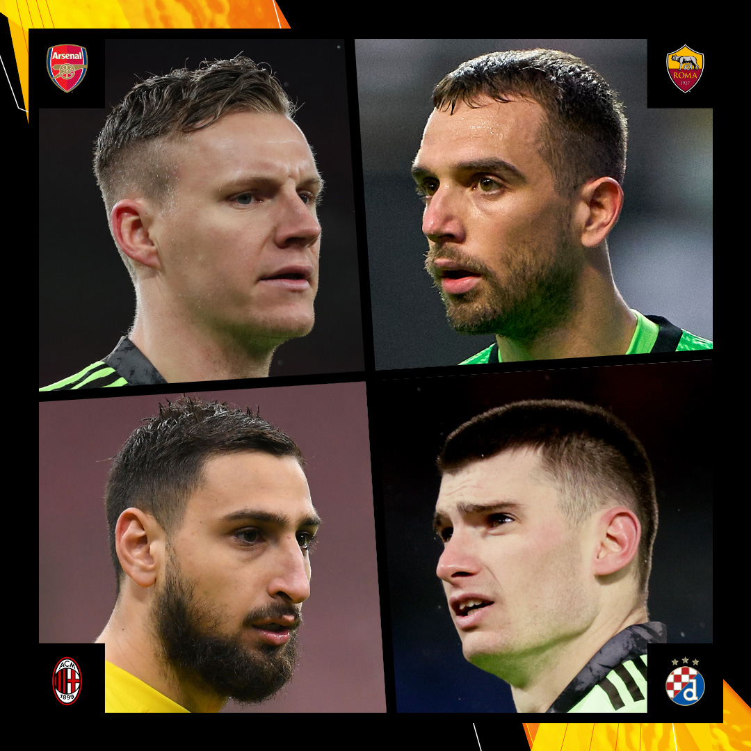 Which goalkeeper will make the biggest impact on Thursday? 🤔  🧤 Bernd Leno 🧤 Pau López 🧤 Gianluigi Donnarumma 🧤 Dominik Livaković  #UEL https://t.co/EV1xIOA9o2