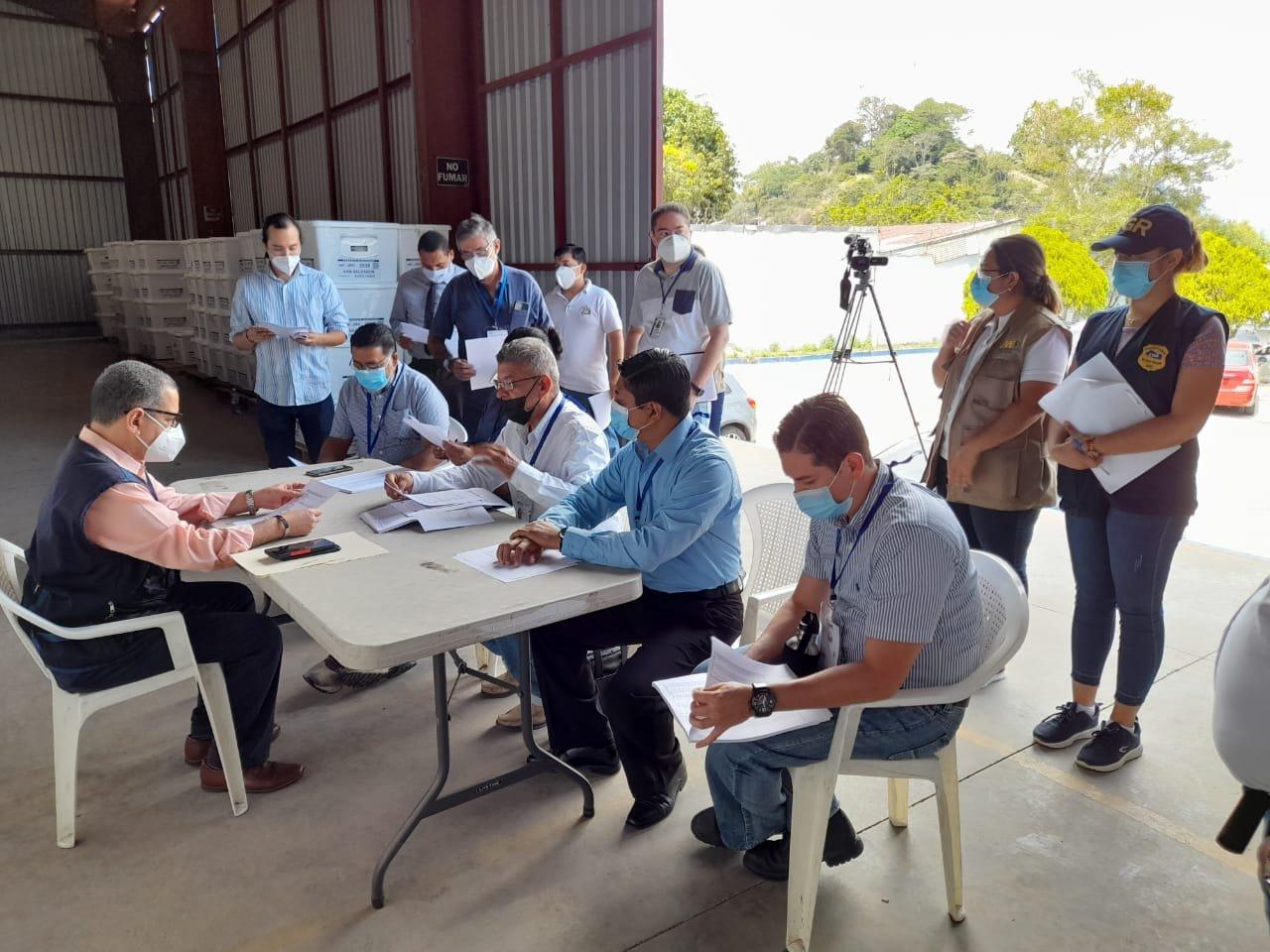 Finaliza entrega de paquetes electorales