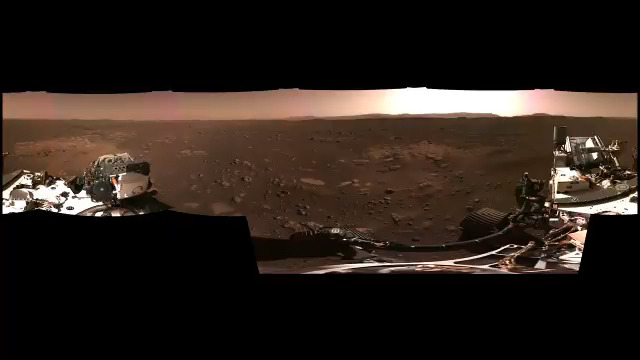 Landing on Mars is a rush of tension, drama, and noise. Then, when the dust clears: tranquility and grandeur.  #CountdownToMars Explore in 3D in the YouTube app: https://t.co/iz9YIvEsvy More images: https://t.co/Ex1QDo3eC2 https://t.co/cj7NOpGysR