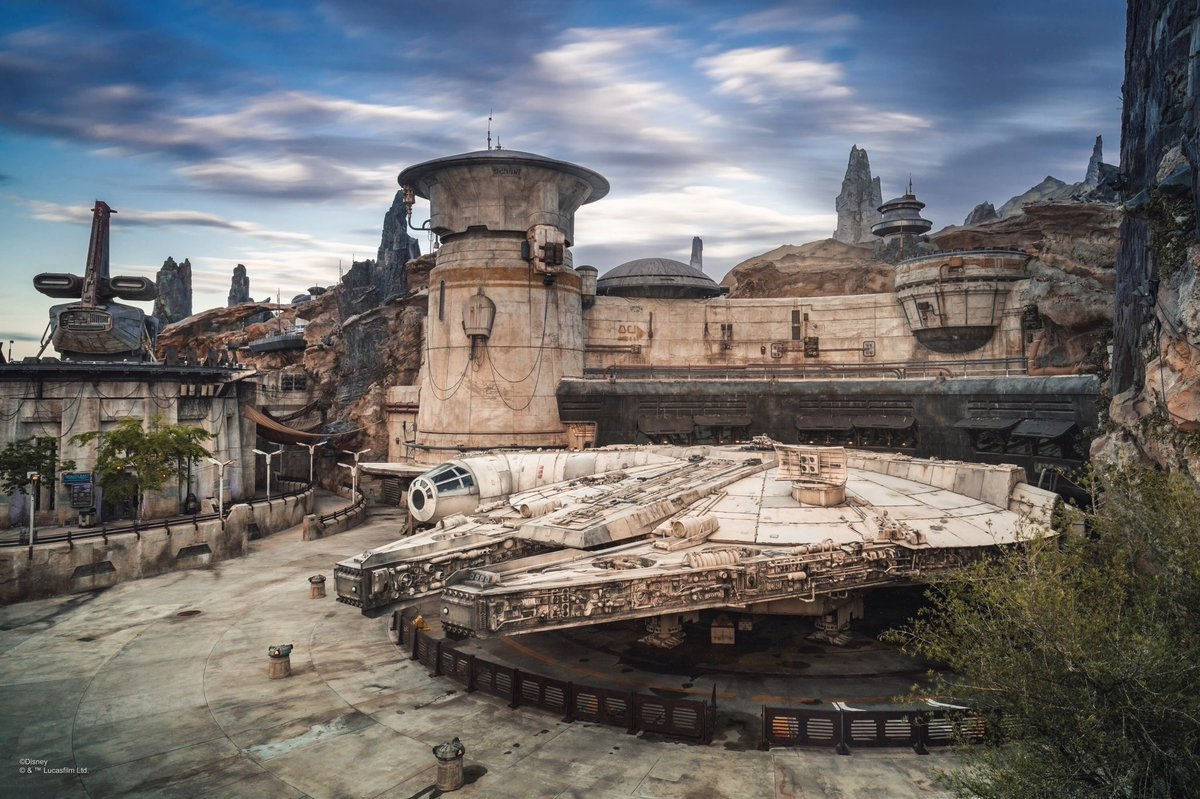 Thinking about her. #StarWars #GalaxysEdge #WaltDisneyWorld