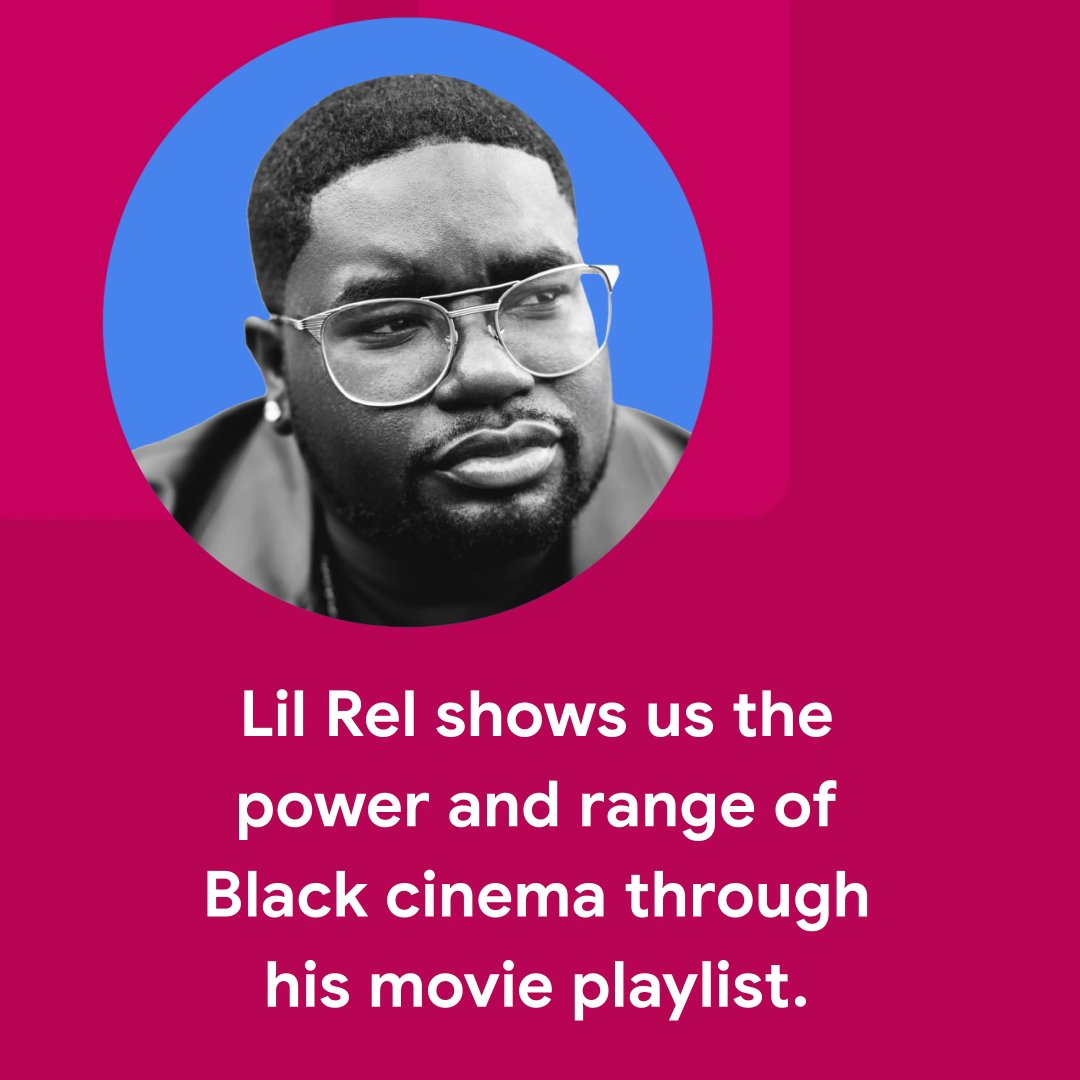 Comedian and actor @LilRel4 knows a thing or two about cinema, and now he's sharing some of his favorites with us in his movie playlist. Check it out on Google Play ✊🏾🎬