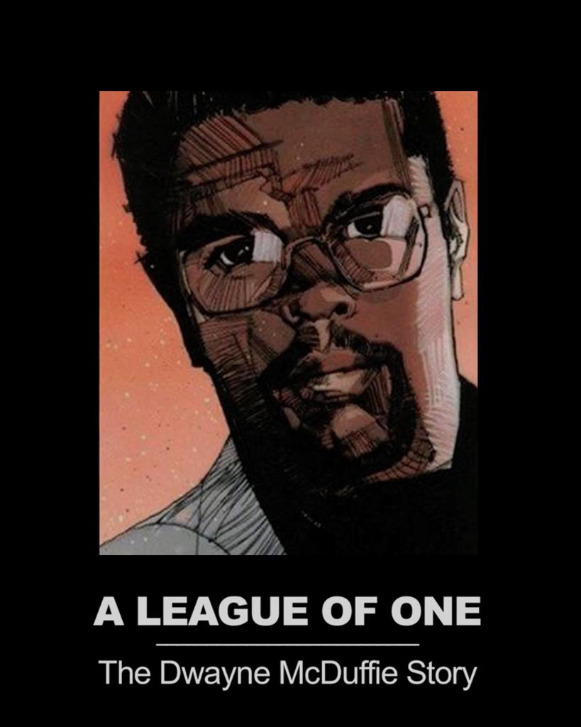 """Today we're celebrating the legacy of comic book & animation writer Dwayne McDuffie. Learn about his incredible story in """"A League of One: The Dwayne McDuffie Story."""" Watch it now -"""