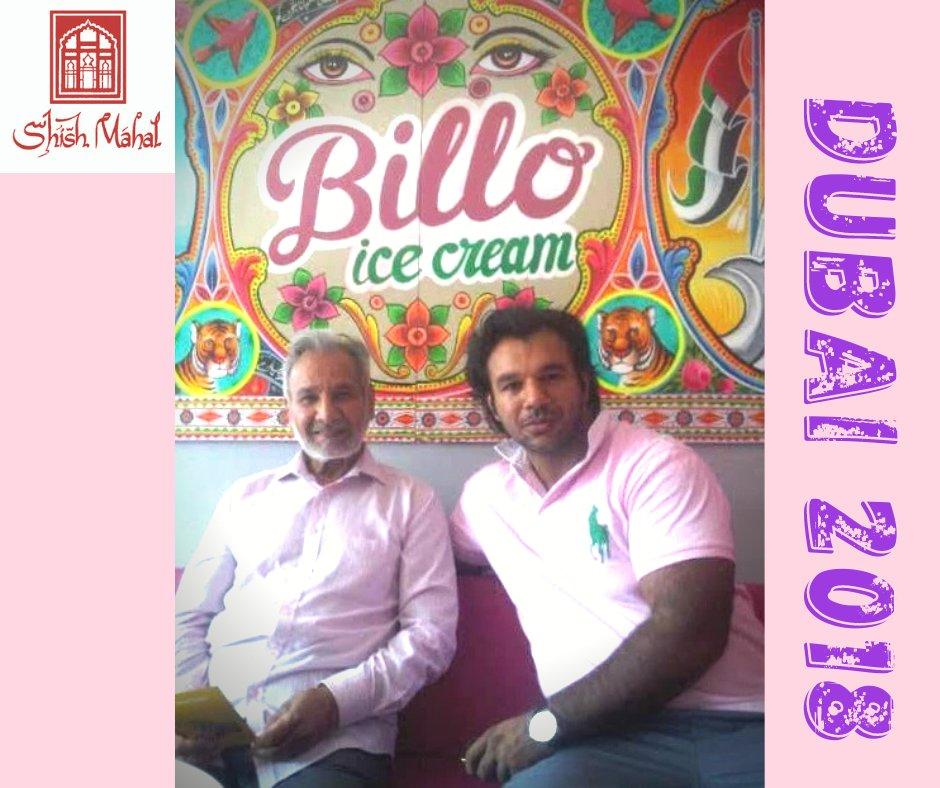 Hey Shish Snobs...Mr Ali's guilty pleasure is Ice Cream....This is them enjoying Ice Cream with Omar in Dubai 2018.🍦 ❤️.  🍨  .  What is your guilty pleasure? #shishmahal #shishsnobs #dubai #unitedarabemirates #omarali #icecream #guiltypleasure #loopandscoop https://t.co/WJSdtlmKmF