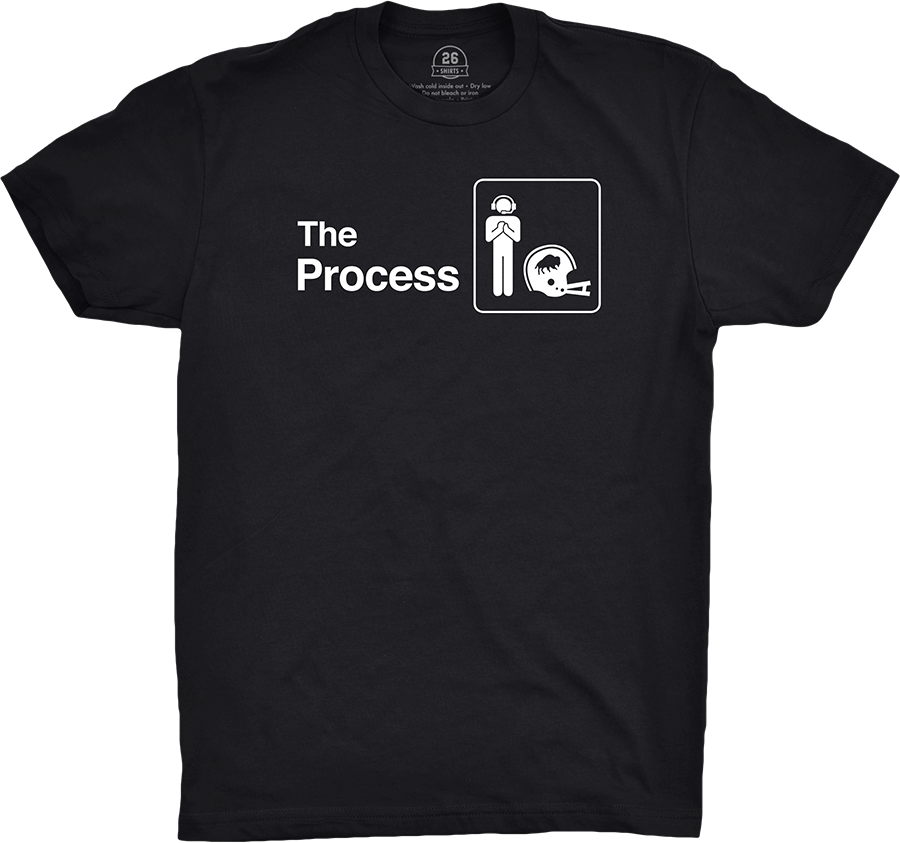 """LAST CALL! At midnight, we're on to a new design and a new beneficiary. Final opportunity to purchase """"The Process"""" and support Finn Erlandson! Presented by  #BillsMafia #TheOffice"""