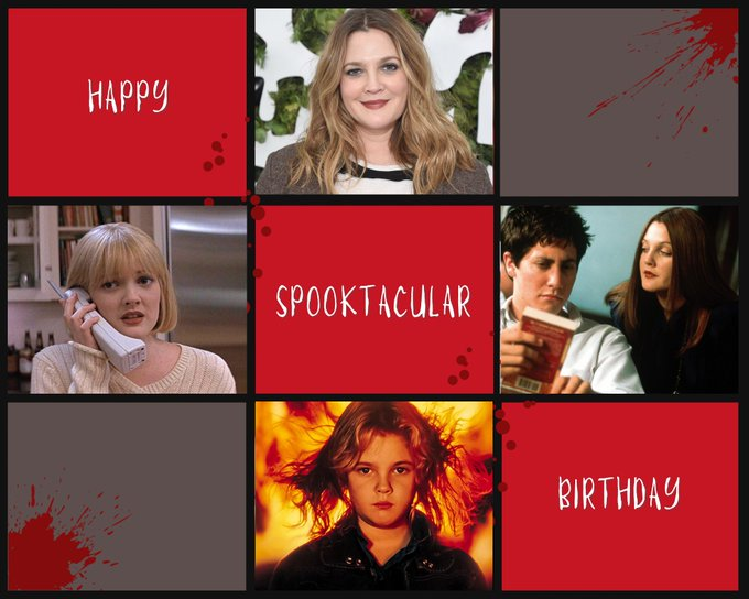 Happy spooktacular birthday to the one and only Drew Barrymore!