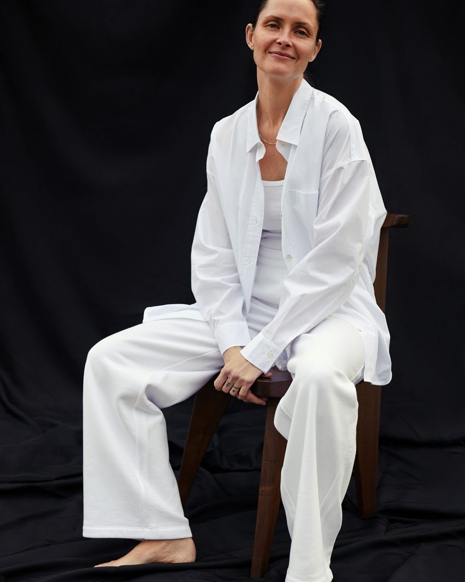 The Group by Babaton. Effortless shirting and fleece in unique washes and fresh whites. Consider yourself at home. https://t.co/zu9R5grWRa https://t.co/nGO0S4YCAN