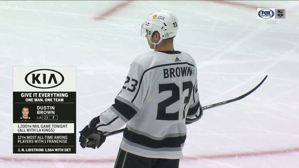 @FoxSportsWest's photo on Dustin Brown