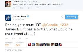 Happy Birthday James Blunt so I m whipping out this classic