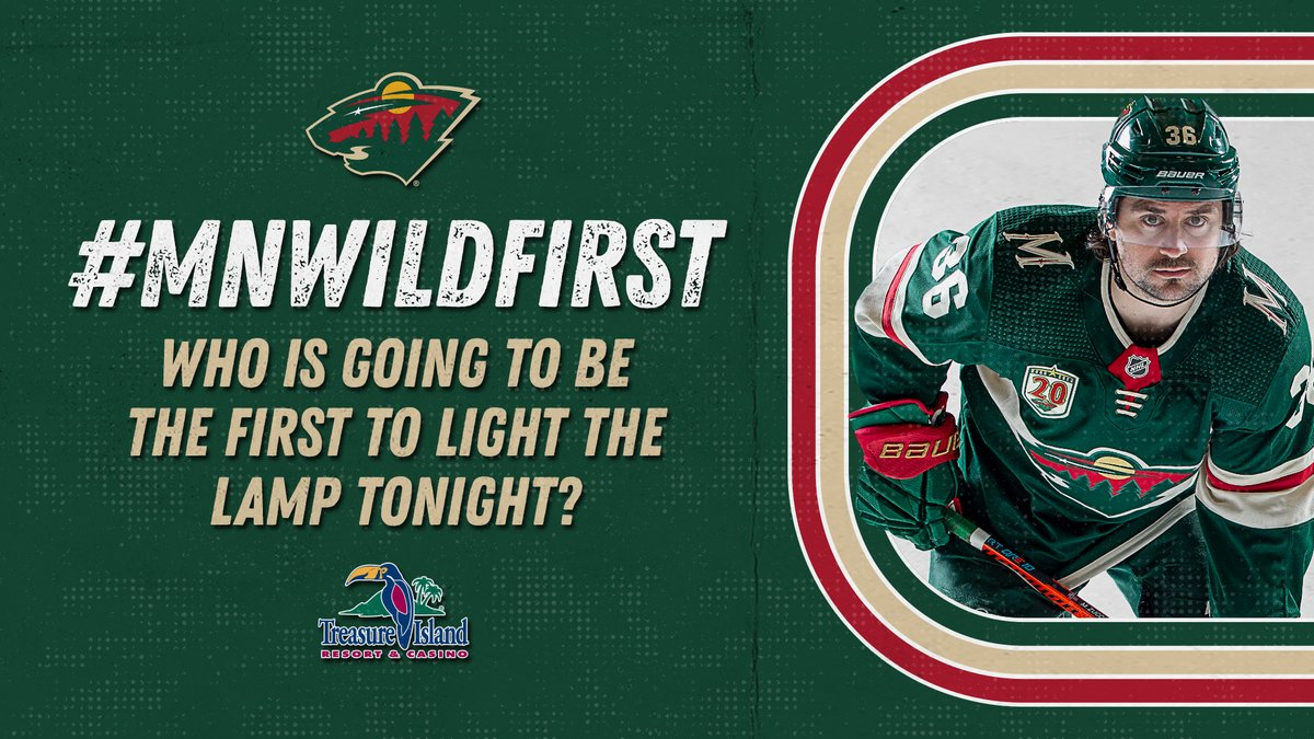 The time is now! ⌚️  Reply using #mnwildFirst and your guess for chance at a prize, presented by @ticasino.  One winner selected.