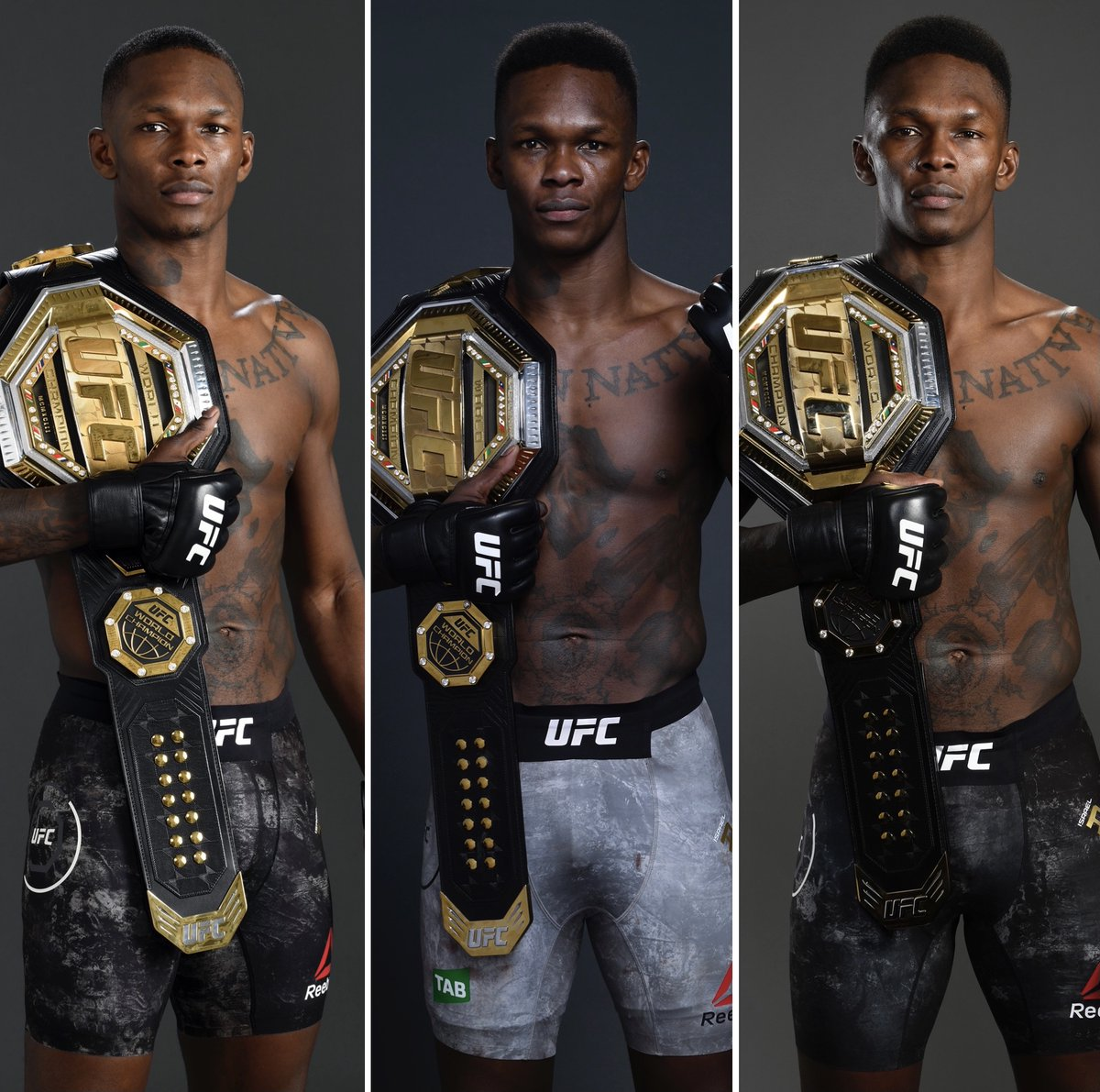 🏆 @Stylebender barely appeared touched after his last three fights. #UFC259
