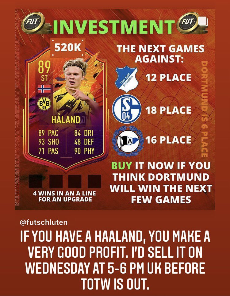 Insane PROFIT 🤑🔥  👇🏻Follow for more FIFA content! @FUTschluten   #fifa #fifa21 #fifaultimateteam #fifa2021 #fifamemes #fut21 #fifasolutions #fifapacks #fifamarket #fifatrading #trader #fifatrader #trading #fifatrading #totw19 #sbc #teamoftheweek #teamoftheyear #toty