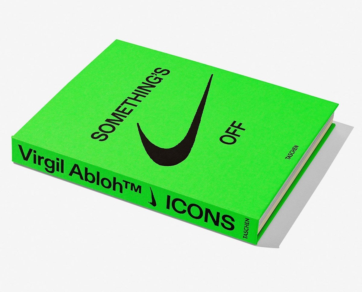 UNDER RETAIL Virgil Abloh x Nike ICONS Hardcover $49.71 shipped (retail $70)  =  3