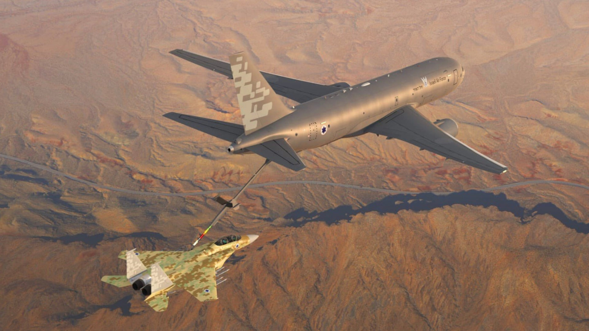 It's Official: KC-46 Tankers And More F-35s For Israel, But No Advanced F-15s For Now Photo