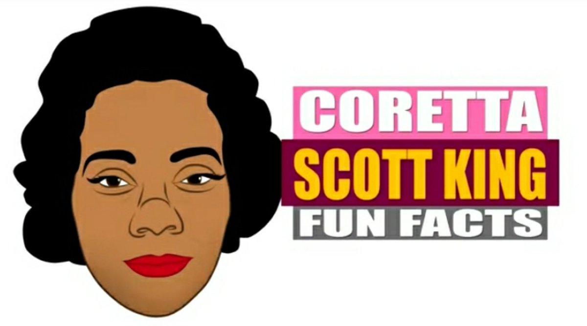The Woman who stood along side of Dr. Martin Luther King Jr was, Coretta Scott King! Fresberg Cartoon celebrates Mrs. King for her courageous works in the Black Community & fight towards freedom! Video⬇️   #BlackHistory #BlackHistoryMonth #CorettaScottKing