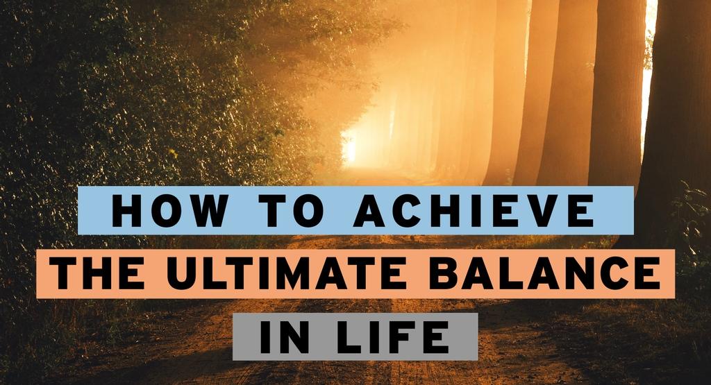 How to Achieve the Ultimate Balance in Life - New Life 1140    #mondaymotivation #mondaymantra #mondayinspiration #kabbalah #innerpeace #goodmood #nature #balance