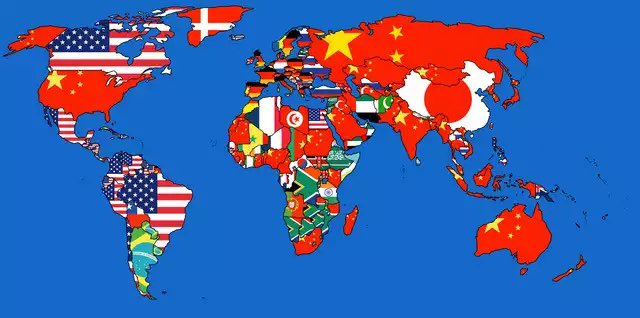 MAP BREAK   Largest source of imports by country