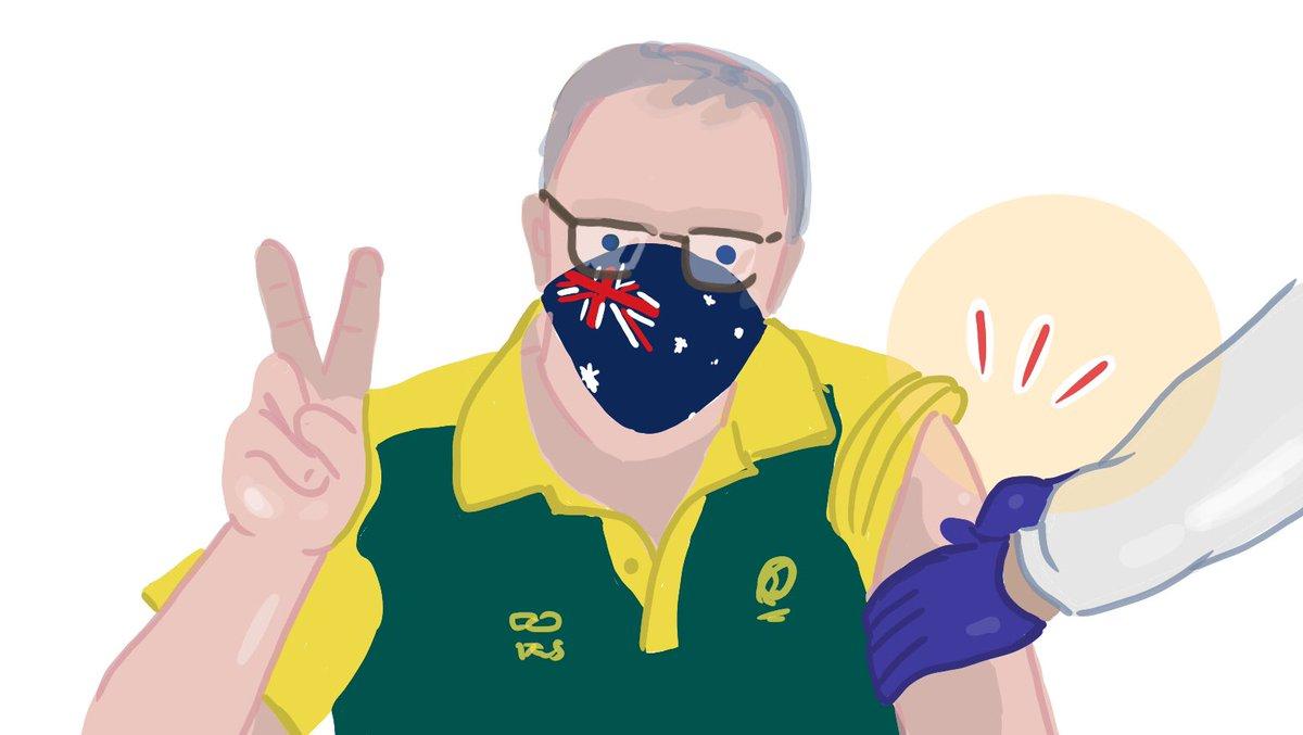 Vaccination has begun in Australia, and Prime Minister Scott Morrison has been vaccinated. #scomo #AustraliaVaccination #australiannews #news #vaccine #オーストラリアのニュース https://t.co/t5tBfHZBTX