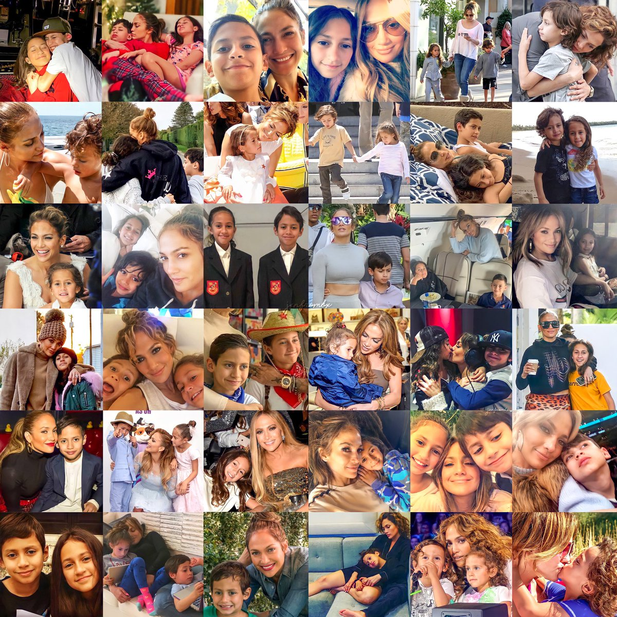 happy birthday max and emme!!! 🎂🎊 your lovely momma @JLo is so lucky to have two amazing children like you❤️ love you cocos🥥🥥 #happybirthdaycoconuts #maxandlulu #cocos13thbirthday
