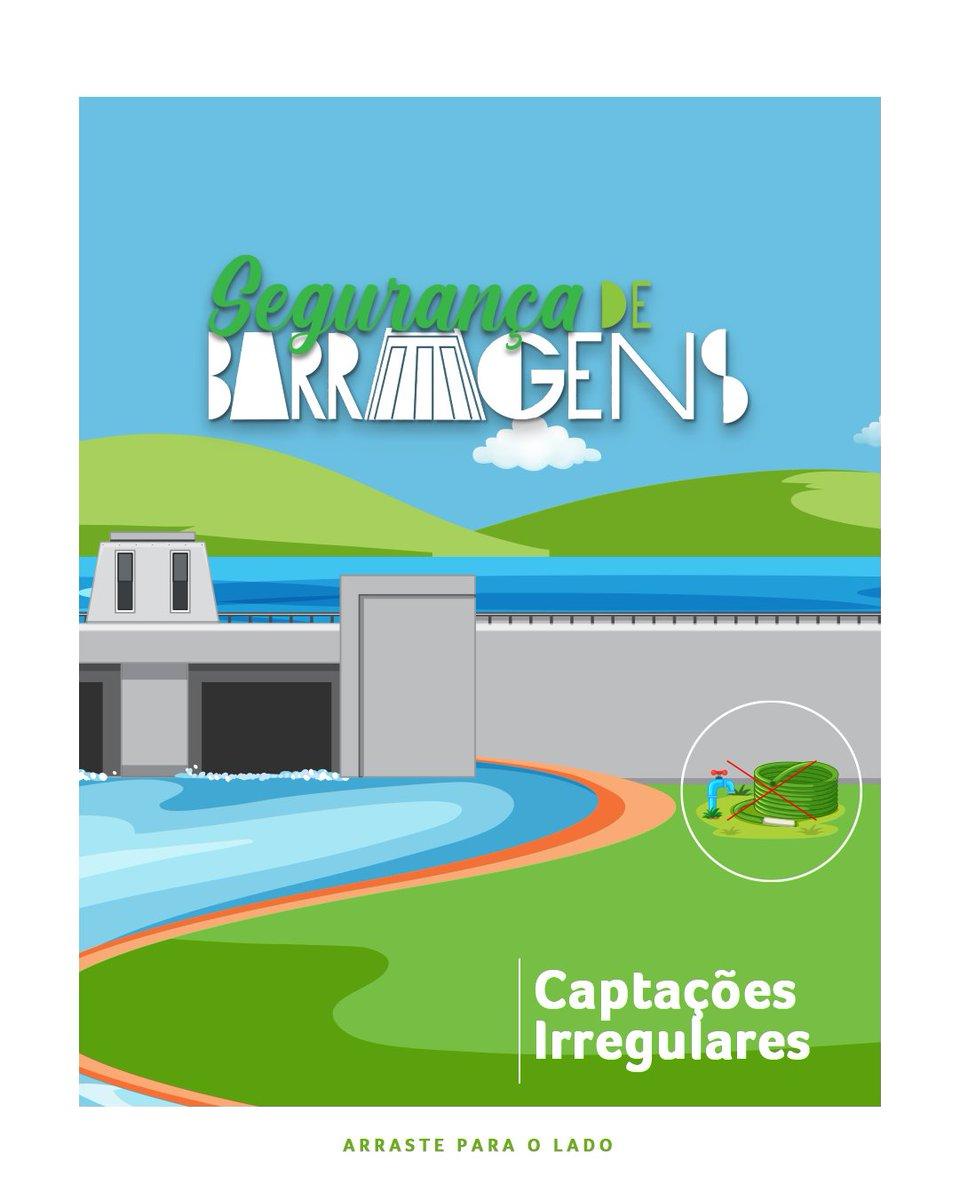 Priorizar os eventos de riscos relacionados à segurança de barragens é uma das nossas diretrizes da Política de Segurança de Barragens. Nossa campanha atual pontua comportamentos e desvios que colocam em risco a estrutura das usinas e, principalmente, a vida da população. https://t.co/m7zGyjIATi