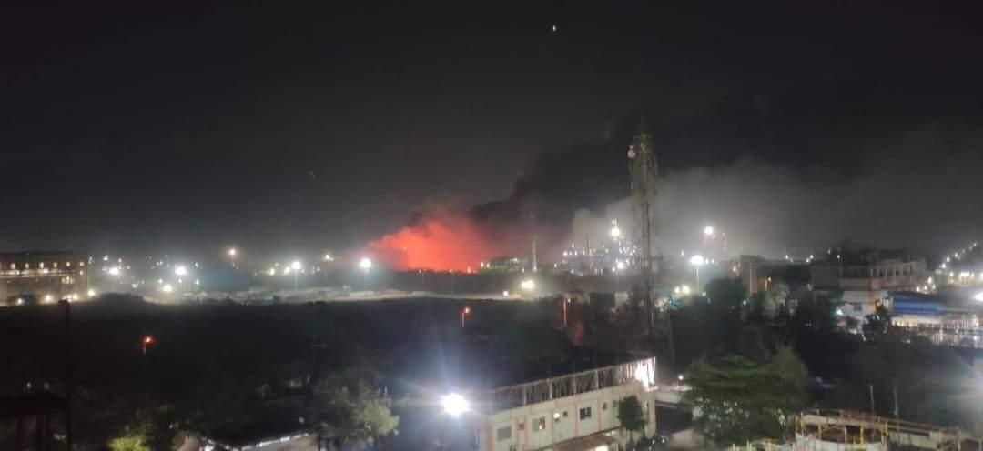 Massive blast at UPL5 plant of Jhagadia heard in over 10 km radius, earthquake like shake felt