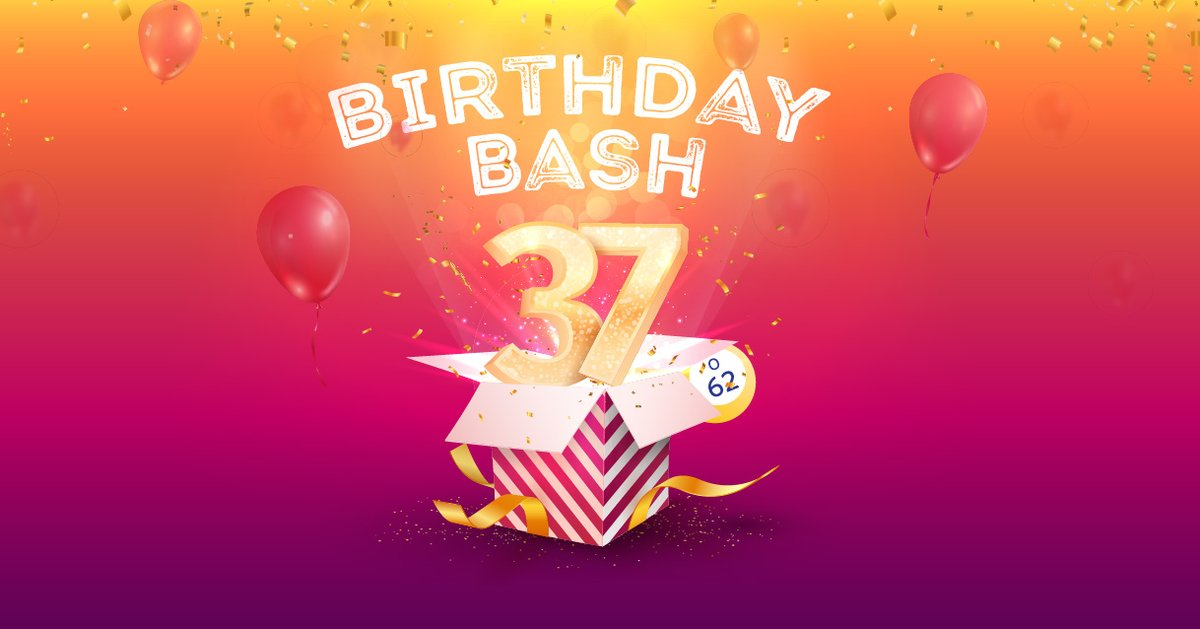 Celebrate 37 years of Island Bingo at our Bingo Birthday Bash on Sunday, February 28. You could win up to $1,000 FREE slot play during our 37 drawings. Use your Island Passport Club card when you purchase your entry pack to receive a drawing slip. 🥳