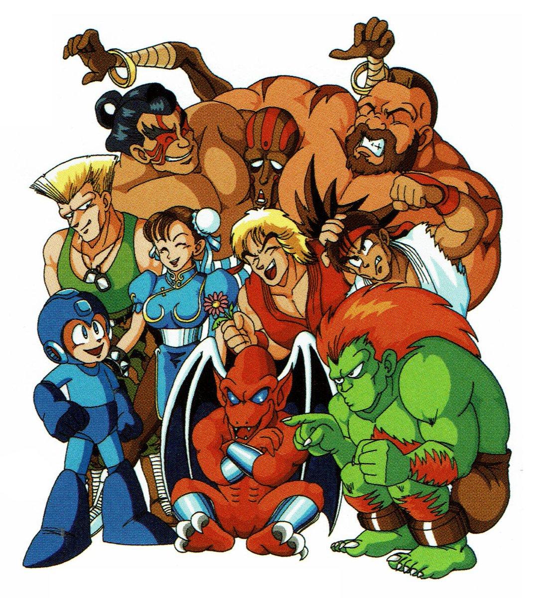 @VGArtAndTidbits's photo on Capcom