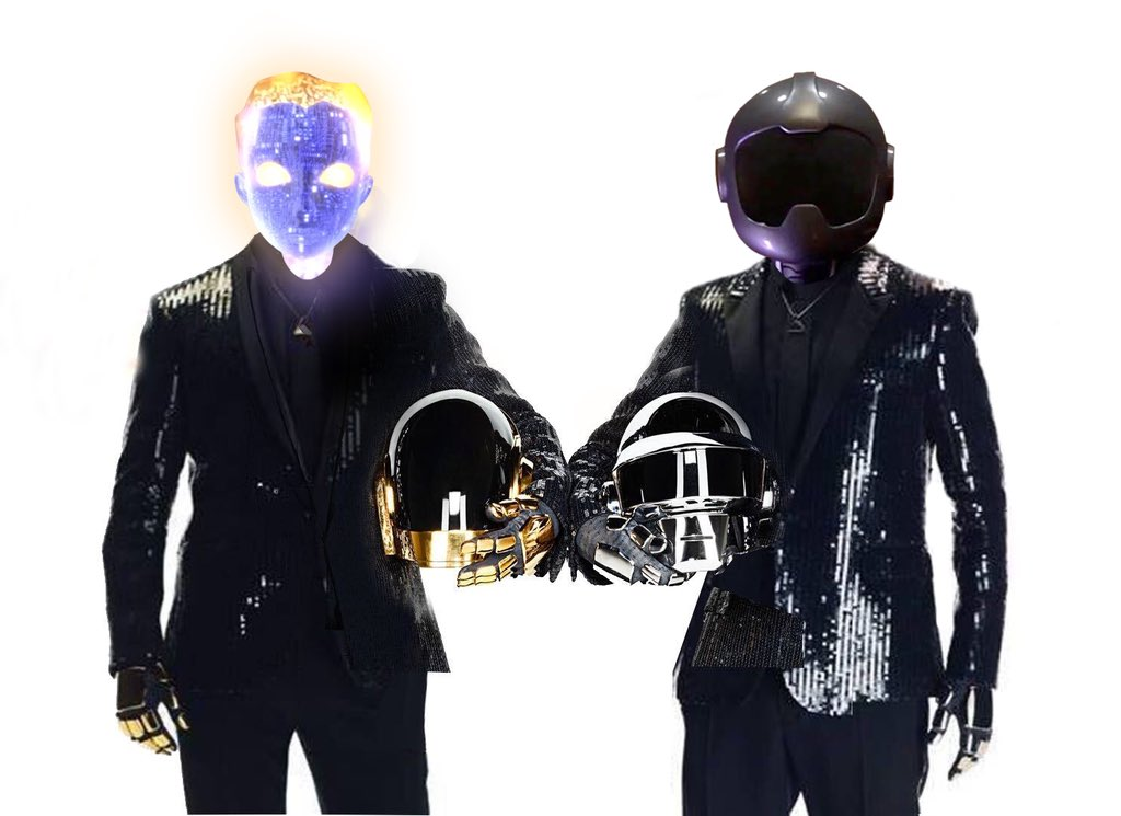 Replying to @adultswim: Hats off to Daft Punk for 28 years