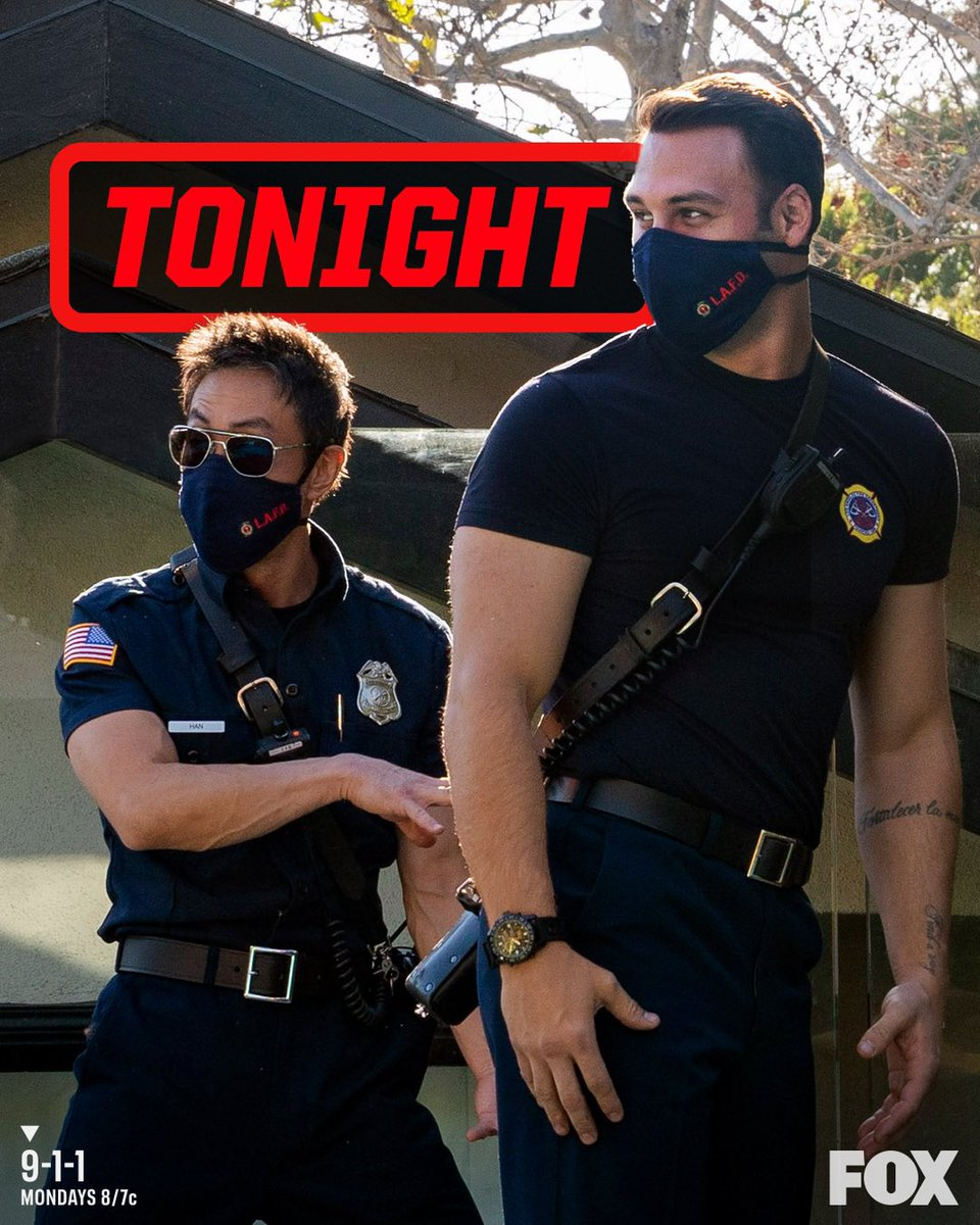 TONIGHT is a WILD RIDE on @911onFOX Are you all caught up and ready to tune in at 8/7c using hashtag #911onFOX