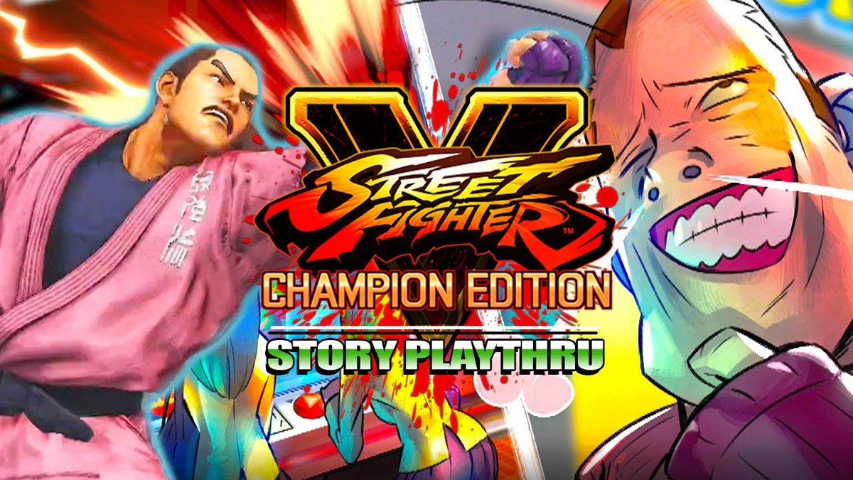 Maximilian_DOOD - DAN'S BACK! Street Fighter V - Dan Hibiki Story Mode & Combo Trials