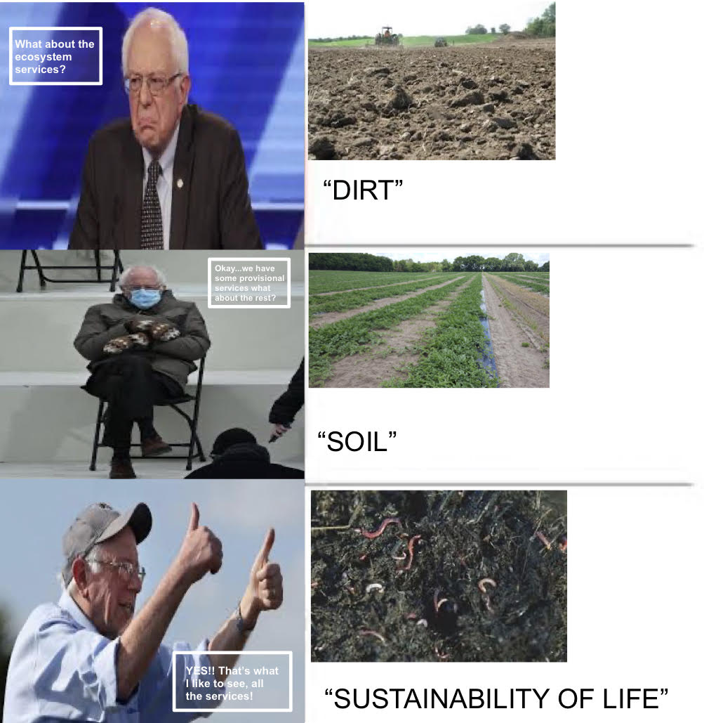 #soil #creativity ..... #Berniememes