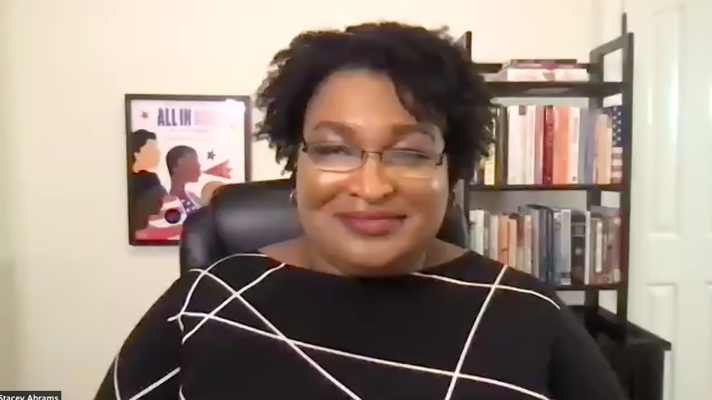 I refuse to believe that defeat is permanent. I have failed, I have lost, I have not gotten. But I dont stop. Because when I stop, theyve defeated me... And I refuse to let that be so. - @StaceyAbrams #KPUxAbrams