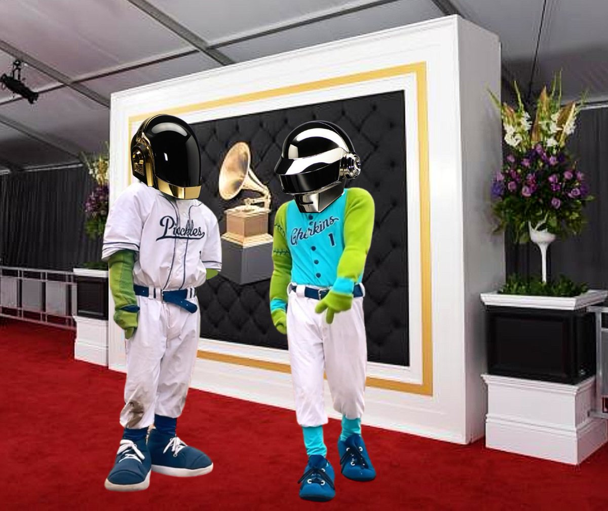 We're sad to hear about the #DaftPunkBreakUp, but we're happy to know that the torch has been passed into good hands! #DillPunk🥒