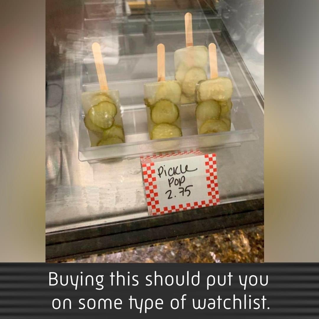 This is just awful 🤢🤢 #memes #comedy #tosh #pickles #cuptocupshow