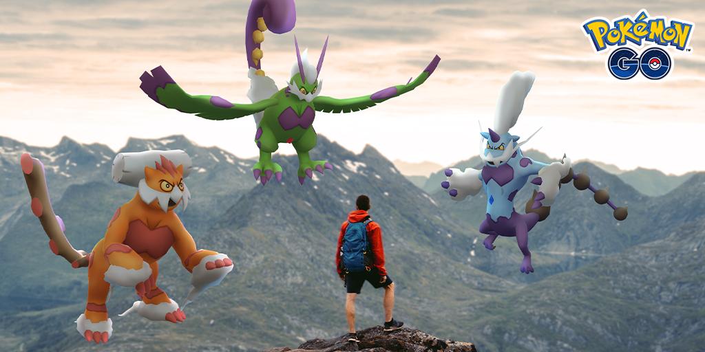 test ツイッターメディア - 「ボルトロス(れいじゅうフォルム)」「トルネロス(れいじゅうフォルム)」「ランドロス(れいじゅうフォルム)」の共通点はなんでしょうか? 正解は、『Pokémon GO』に初登場となる伝説のポケモンたちです! 新しいシーズンをお楽しみに! #ポケモンGO https://t.co/MoXDUkGiRf https://t.co/QWYtabSJ4q