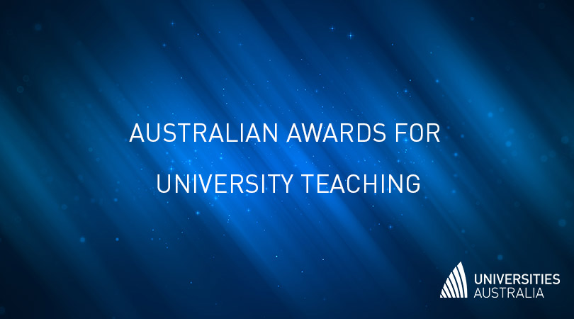 Nice to end the day with a celebration of great Australian #highered teaching 🏆 🏅 🎉 Thanks for all your team's efforts again this year @ProfAngeCarbone  #AAUT https://t.co/WwNIfhFH71