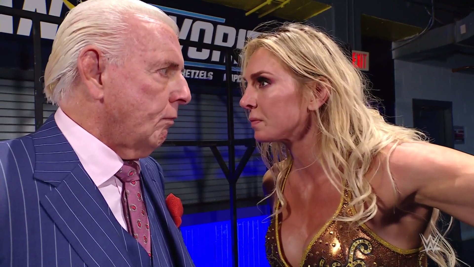 WWE Apparently Ends Ric Flair – Lacey Evans Storyline On RAW