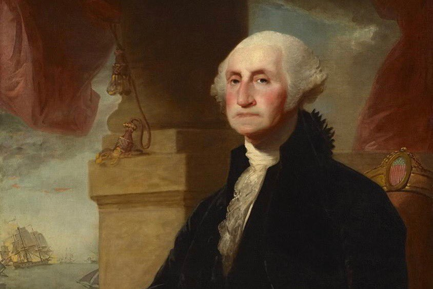 #HappyBirthdayGeorgeWashington His REAL birthday! He was rolling over in his grave these last four years but I know he would be proud now! #NewDayInAmerica #AmericaisBack #GoodbyeTrump #PresidentBiden #BuildBackBetter #RestoretheSoulofAmerica #KeepTheFaith #FBR #FBRParty #Resist