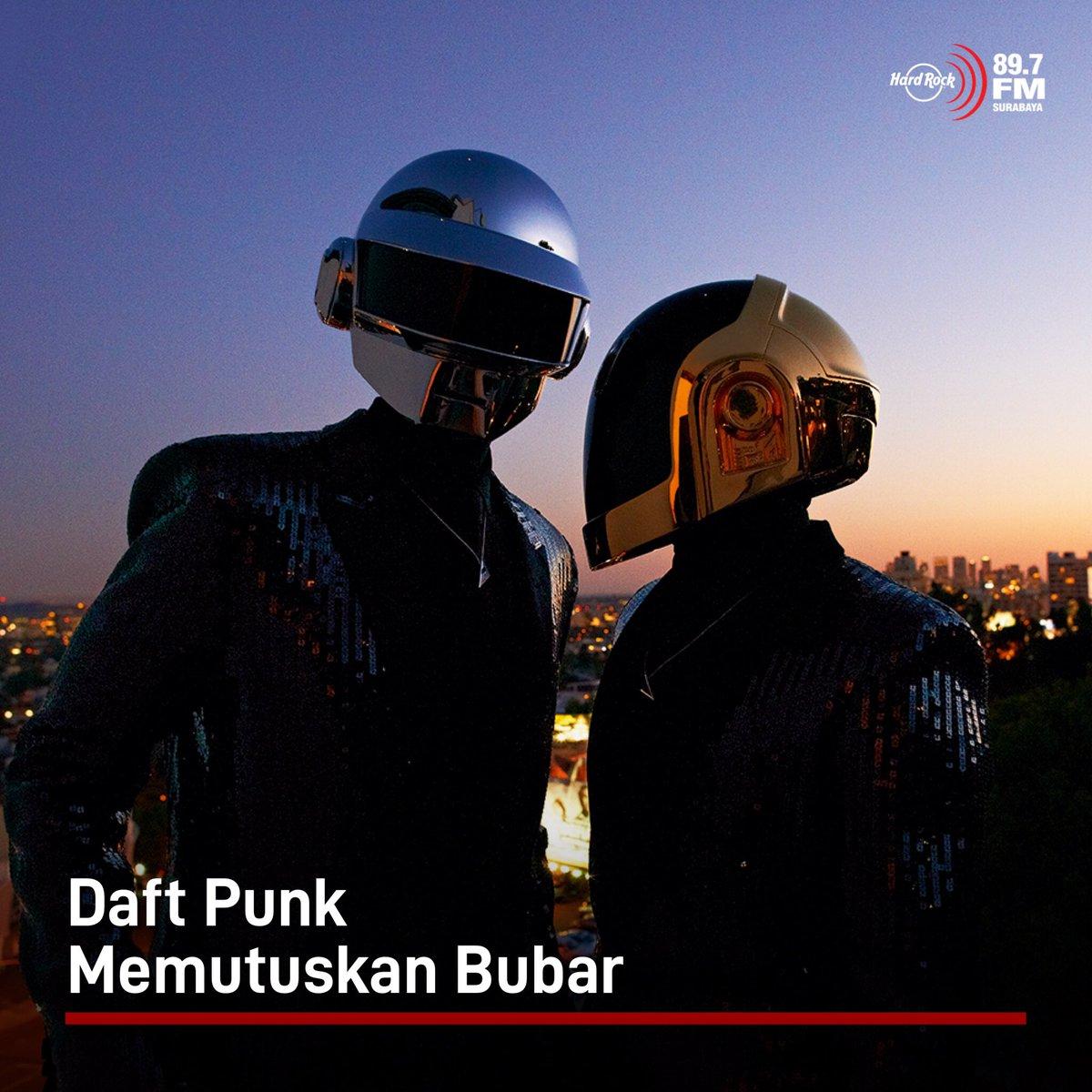 #HRFMNews Daft Punk mengumumkan bubar setelah 28 tahun.  Mereka mengumumkan keputusan itu melalui video berjudul Epilogue yang mereka upload di YouTube, dimana video ditutup dengan simbol tangan membentuk segitiga dengan tulisan 1993-2021 di bawahnya.