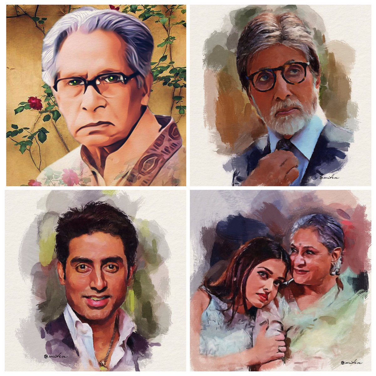 Bachchans Legacy .... @SrBachchan @juniorbachchan #JayajiBachchan #AishwaryaRaiBachchan ✊