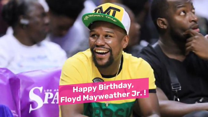 Happy Birthday, Floyd Mayweather Jr. !