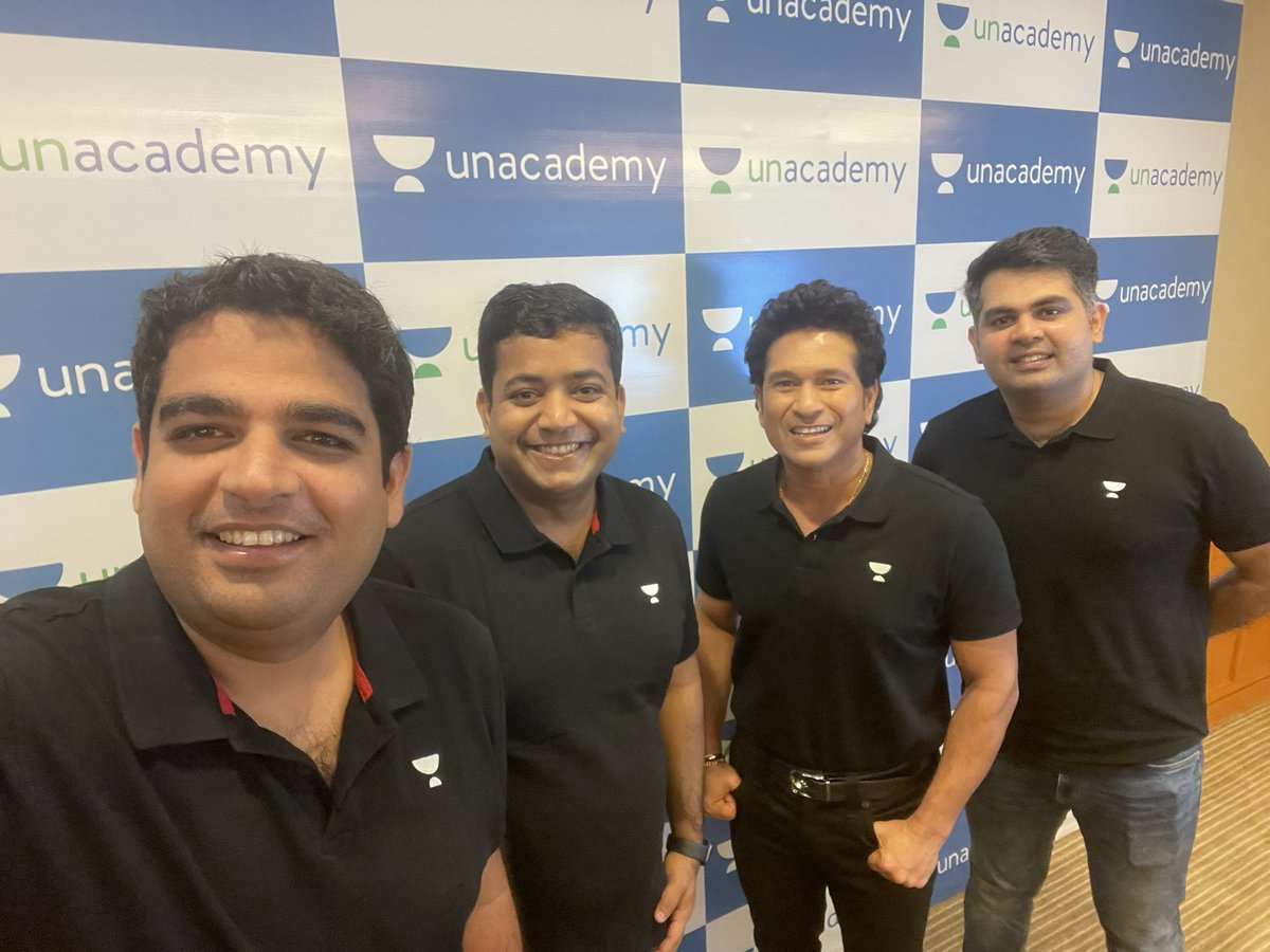 24 years of cracking and mastering the game. Now, a lifetime of helping learners crack their goals.   Welcome @sachin_rt to Unacademy!