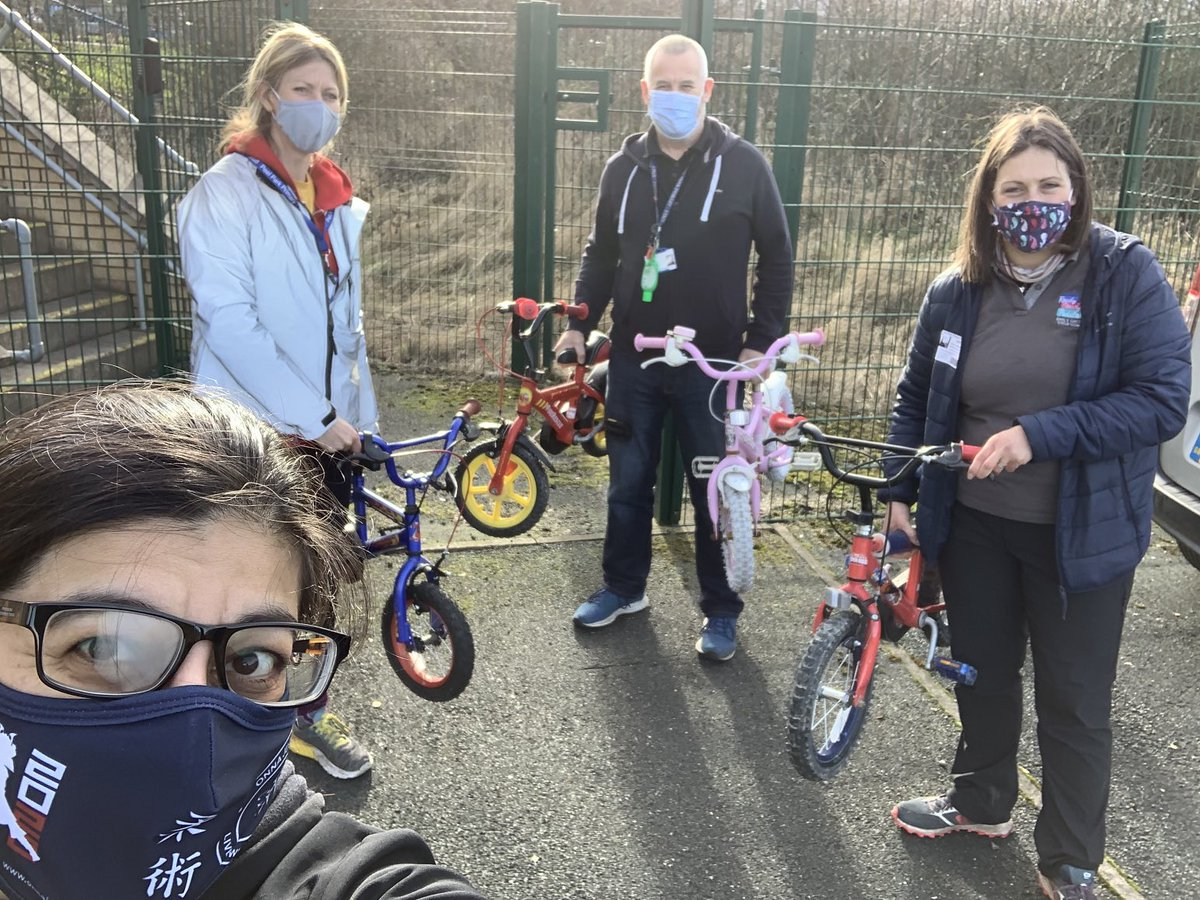 RT @OnnaJuJitsuClub: Last bikes delivered to @PeelPark_PE. Now making my way to @ListerPrimary thanks to @JoinUsMovePlay @OnnaBike @CyclingWrose #Cycling #Community #Bradford