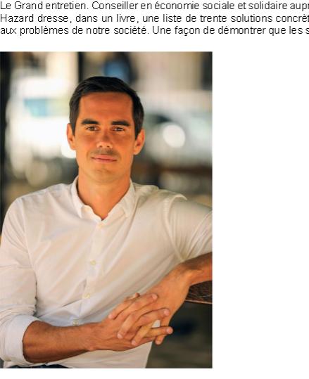 « Ce sont les métropoles qui risquent de devenir has been !» Retrouvez l'entretien de @NicolasHazard dans @paris_normandie à l'occasion de la parution de son livre Le bonheur est dans le village ! Disponible ici ➡ bit.ly/2Lpssgx