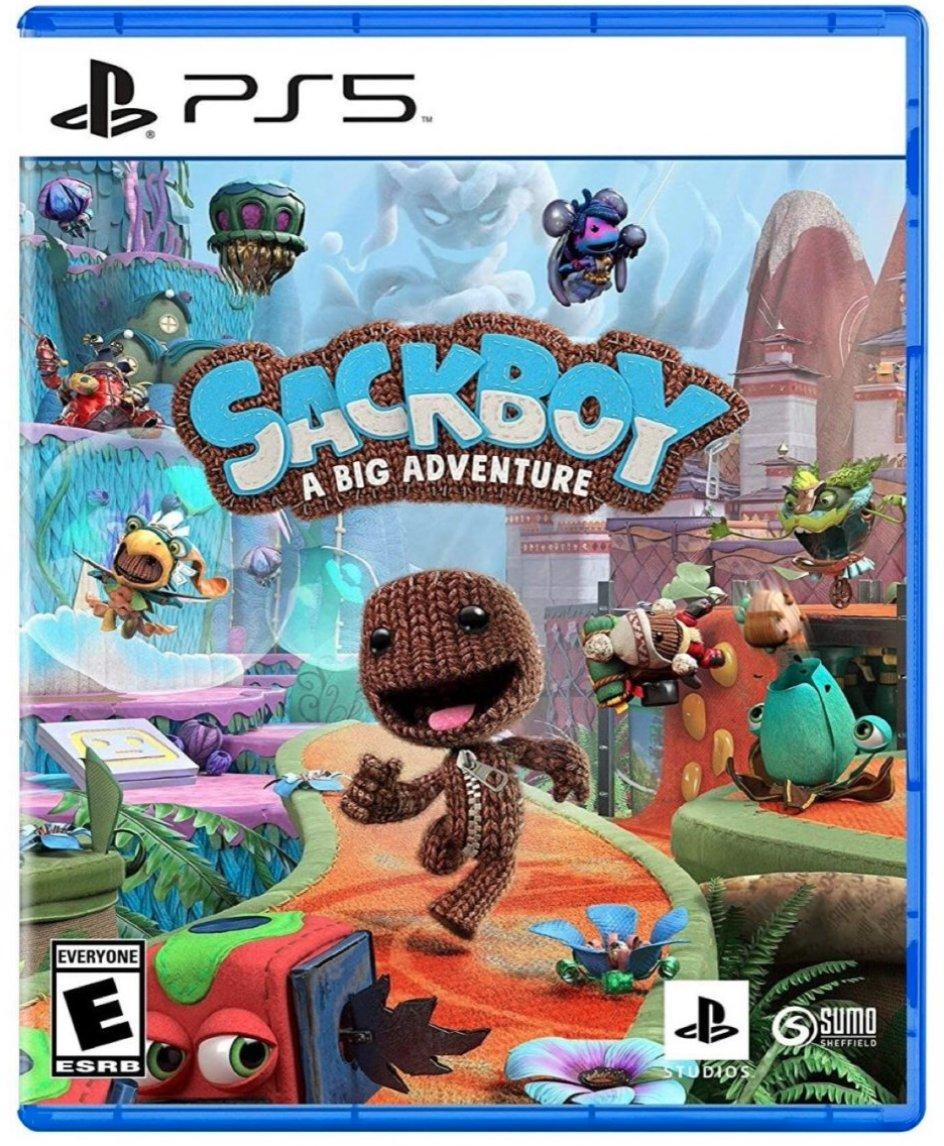 Sackboy: A Big Adventure PS5  PlayStation Studios  Amazon USA 4